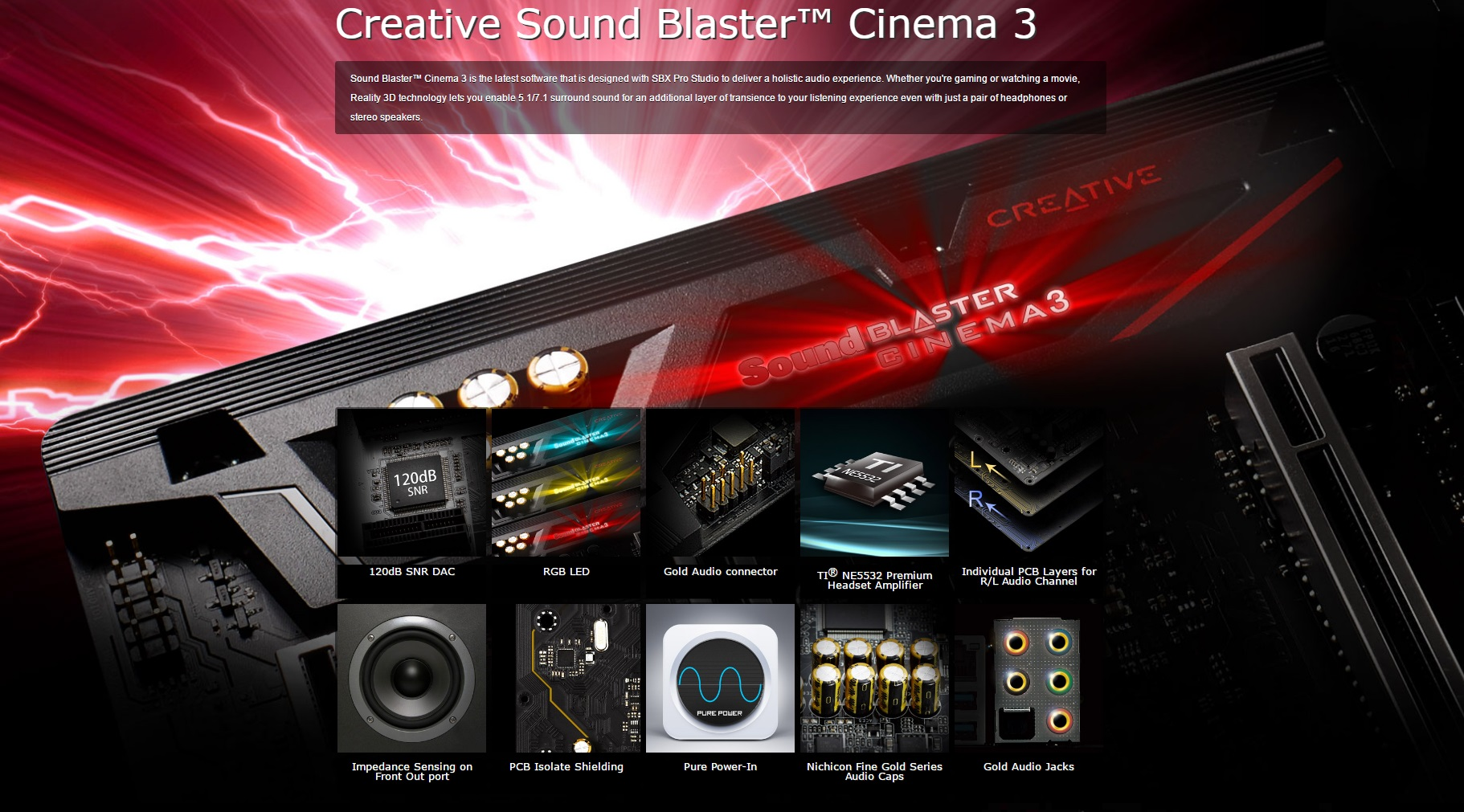 Sound Cinema 3